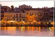 The Old Harbor, Chania, Crete, Greece Fine-Art Print