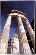 Temple of Athena, Tholos Rotunda, Delphi, Fokida, Greece Fine-Art Print