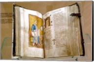 Lectionary, Christianity, Byzantine Museum, Athens, Greece Fine-Art Print