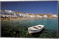 Platis Gialos Beach, Mykonos, Cyclades Islands, Greece Fine-Art Print
