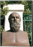 Aeschylus, Classical Athens Bust, Statue, Athens, Greece Fine-Art Print