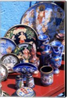 Artwork and Plates of Artists, Athens, Greece Fine-Art Print