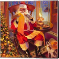 Santa Christmas List Fine-Art Print