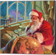 Santa World Traveler Fine-Art Print