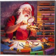 Santa the Train Master Fine-Art Print