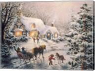 Christmas Visit Fine-Art Print