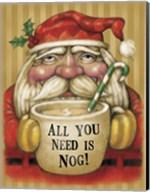 Santa Mug Fine-Art Print
