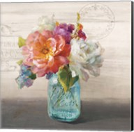 French Cottage Bouquet I Fine-Art Print