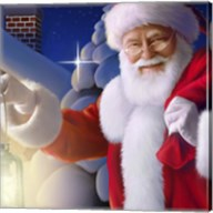 Santa's Greeting Light Fine-Art Print