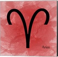 Aires - Red Fine-Art Print