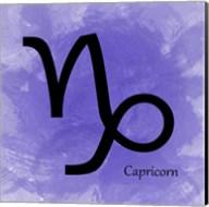 Capricorn - Purple Fine-Art Print