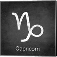 Capricorn - Black Fine-Art Print