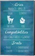 Aries Zodiac Sign Fine-Art Print