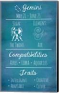 Gemini Zodiac Sign Fine-Art Print