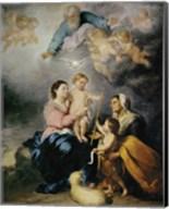 The Holy Family, also called the Virgin of Seville Fine-Art Print