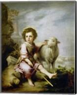 The Good Shepherd, around 1665. Fine-Art Print
