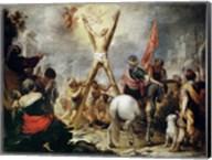 Martyrdom of Saint Andrew Fine-Art Print