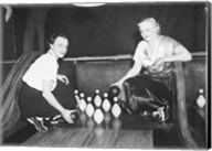 Bowling Alley, 1936 Fine-Art Print