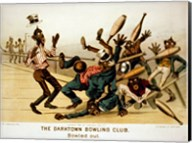 The Darktown Bowling Club: Bowled Out Fine-Art Print