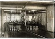 Bowling Alley Employees, New York Fine-Art Print