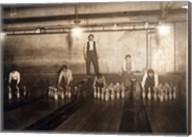 Subway Bowling Alley, 65 South St., Brooklyn, N.Y. Fine-Art Print