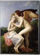 Psyche Receiving the First Kiss of Cupid, 1798 Fine-Art Print