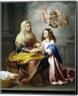 Saint Anne and the Virgin Fine-Art Print