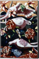 Untitled (Birds and Flowers) Fine-Art Print