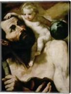 Saint Christopher,1637 Fine-Art Print