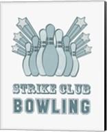 Strike Club Bowling Fine-Art Print