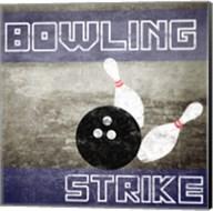 Bowling Strike Fine-Art Print