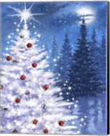 White Xmas Tree Fine-Art Print