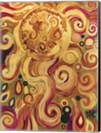 Sun Glowing Whimsy Fine-Art Print