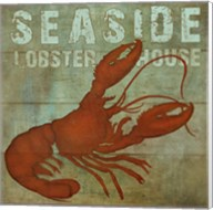 Seaside Lobster Jouse Fine-Art Print