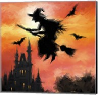 Halloween Witch Fine-Art Print