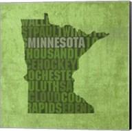 Minnesota State Words Fine-Art Print