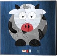 Moo The Cow Fine-Art Print