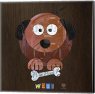 Woof The Dog Fine-Art Print
