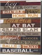 Hey Batter Batter Fine-Art Print