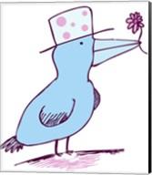 Flower Bird Fine-Art Print
