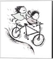 Bike Kids Fine-Art Print