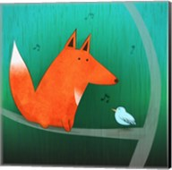 Fox In Tree Fine-Art Print