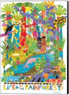Life In The Rainforest Fine-Art Print