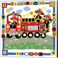 Firetruck Fine-Art Print