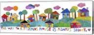 Friends House Fine-Art Print