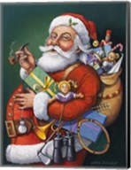 Saint Nick And All His Toys Fine-Art Print