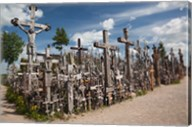 Lithuania, Siauliai, Hill of Crosses, Christianity III Fine-Art Print