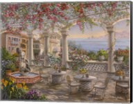 Dining On The Terrace Fine-Art Print