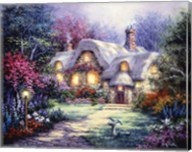 Garden Cottage Fine-Art Print