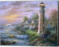 Lighthouse Haven II Fine-Art Print